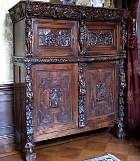 Kunst En Antiek Verkoop Hollandse Kabinet Kussenkast
